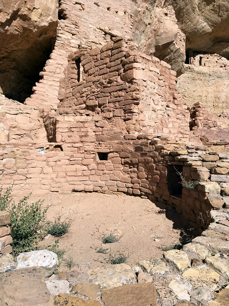 CO-MVNP2017.10.10- Long House, #406. Mesa Verde Nat. Park Colorado. Photo by Mary Lou B.