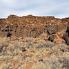 AZ-WNM2018.6.6#619-A Pueblo ruin called the Citadel. Wupatki Nat. Mon. Arizona.