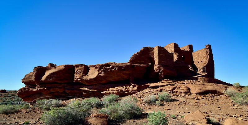 AZ-WNM2018.10.26#513- Wukoki pueblo. Wupatki Nat. Monument Arizona.