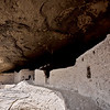 NM-GCD19-2019.11.9#4026.3. Gila Cliff Dwellings. The front of the ruins at the exit area. Gila Wilderness, New Mexico.