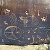 UT-NMC2017.10.7pm3.34#405- Petroglyphs. Nine Mile Canyon Utah.