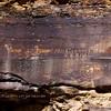 UT-NMC2017.10.7pm12.28#416- Petroglyphs. Nine Mile Canyon Utah.