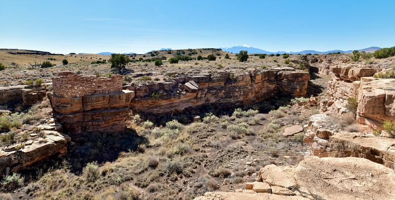 AZ-WNM2018.10.26#405- Box Canyon ruins. Wupatki Nat. Monument Arizona.
