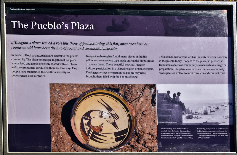 AZ-TZNM-2019.11.13#4362.3. Tuzigoot Nat. Monument. Verde Valley, Arizona.
