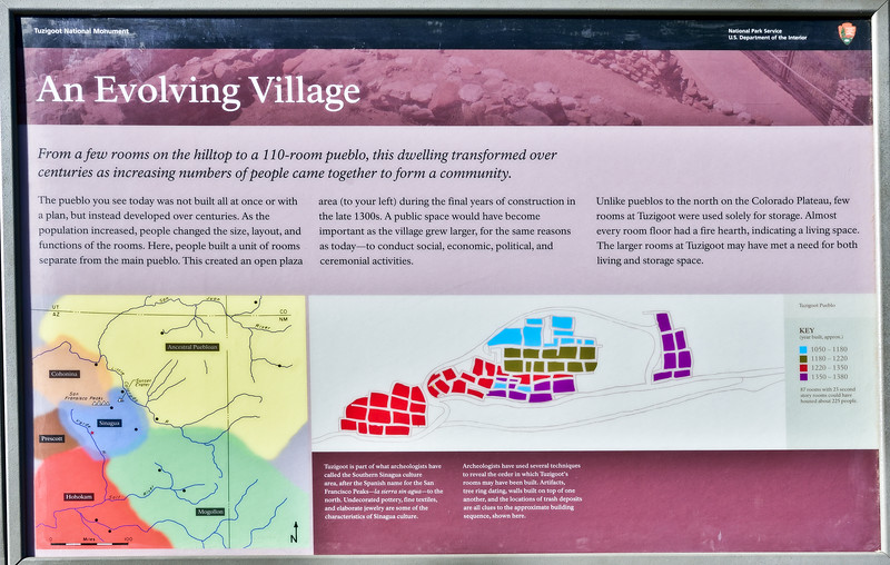 AZ-TZNM-2019.11.13#4352.2. Tuzigoot ruins Nat. Monument. Verde Valley, Arizona.