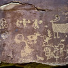 "UT-NMC2017.10.7am11.26#383- Petroglyph panel called ""The Juggler"".Nine Mile Canyon Utah."