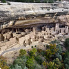 CO-MVNP2017.10.9-Cliff Dwelling, The Cliff Palace. The most remarkable of all Anasazi Cliff dwellings in North America. Mesa Verde Nat. Park, Colorado. #692.