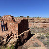 AZ-WNM2018.10.26#384-Box Canyon Pueblo ruins, Wupatki Nat. Monument Arizona.