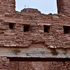NM-SPM-Quarai2 2019.11.11#2858.1x. Header detail over a main doorway. Salinas Pueblo Mission Quarai. North of Mountainair, New Mexico.