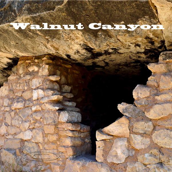 AZ-Walnut Canyon #1 Anasazi Cliff Dwellings