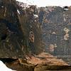 AZ-PFNP2017.10.11#1057-Petroglyphs. Near Puerco Pueblo. Petrified Forest Nat. Park Arizona.