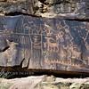 UT-NMC2017.10.7pm3.23#386- Petroglyphs. Nine Mile Canyon Utah.