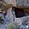 AZ-WCNM-2019.10.2#279.3. Anasazi cliff dwelling in Walnut Canyon near Flagstaff Arizona.