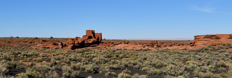 AZ-WNM2018.10.26#508- Wukoki pueblo ruins. Wupatki Nat. Park Arizona.