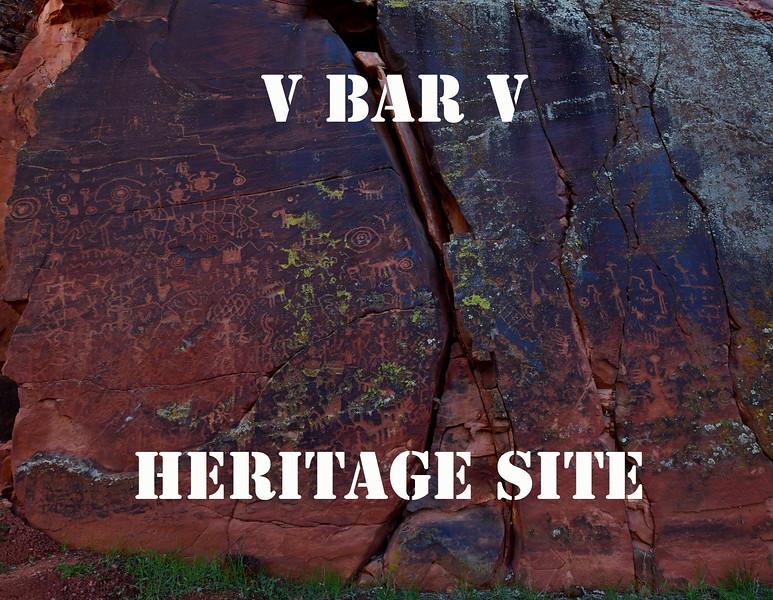 AZ-VBV #1 Beaver Creek Rock Art  Sinagua culture 900 A.D. to 1350 A.D.