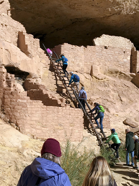 CO-MVNP2017.10.10- Long House, #411. Mesa Verde Nat. Park Colorado. Photo by Mary Lou B.