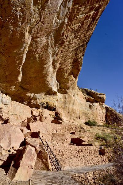 CO-MVNP2017.10.10-Step House#709. Mesa Verde Nat. Park, Colorado.