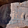 UT-NMC2017.10.7pm3.03#371- Petroglyphs. Nine Mile Canyon Utah.