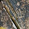 AZ-PFNP2017.10.11#1062-Petroglyphs. Near Puerco Pueblo. Petrified Forest Nat. Park Arizona.