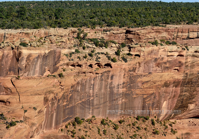 AZ-CDC2017.10.11#1030,2-Cliff Dwellings. Canyon DeChelly Nat. Monument Arizona. 1500 B.C. to 1350 A.D.