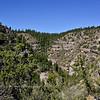 AZ-WCNM-2019.10.2#343.3. Walnut Canyon, home to numerous Anasazi cliff dwelling people. Near Flagstaff Arizona.
