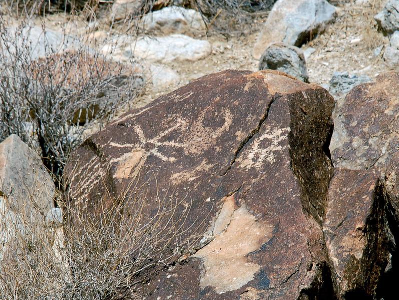NV-GVC2007.2.26#0447- Petroglyphs. Grapevine Canyon  Nevada.