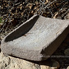 AZ-2017.12.14#035-A typical Metate found through out the Southwest US. Used by early people from a little over 3000 years ago to the present day. Boyce Thompson Aboretum, Arizona.