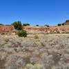 AZ-WNM2018.10.26#372- Unnamed ruins near the North West entrance of the park. Wupatki Nat. Monument Arizona.