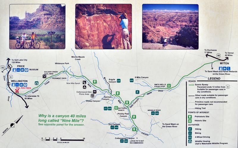 UT-NMC2017.10.7 1#331- Nine Mile Canyon map.