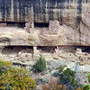 CO-MVNP2017.10.9-Fire Temple&House, #692. A closer view of New Fire House in Fewkes Canyon. Mesa Verde Nat. Park Colorado.