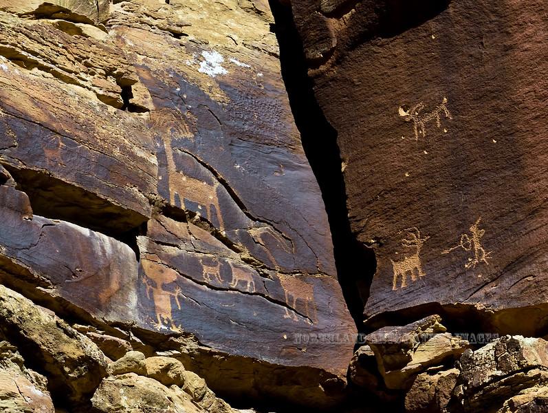 UT-NMC2017.10.7am11.53#329- Petroglyphs. Nine Mile Canyon Utah.