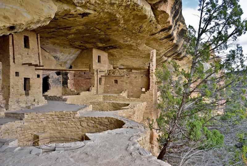 CO-MVNP2017.10.9-Cliff Dwelling, Balcony House8. Mesa Verde Nat. Park, Colorado. #597.