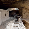 NM-GCD17-2019.11.9#4007.2. Gila Cliff Dwellings. The exit out of the dwellings. Gila Wilderness, New Mexico.