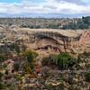 CO-MVNP2017.10.9#682- Oak Tree House. Fewkes Canyon. Mesa Verde Nat. Park Colorado.