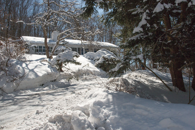 Driveway on March 6, 2015
