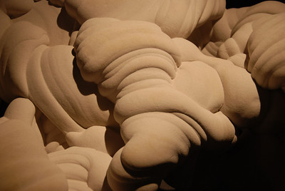 Concretion, Fontainebleau, France