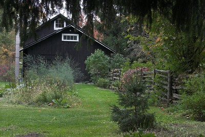 Barn and Gardens
