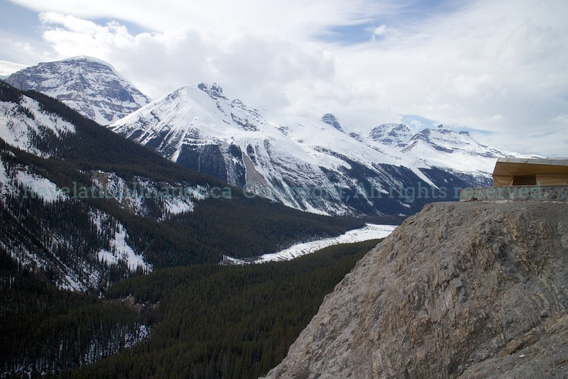Views from the Glacier Skywalk on Opening Day