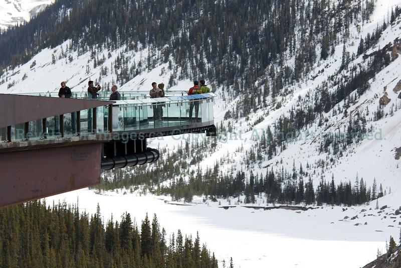 Glacier Skywalk on Opening Day