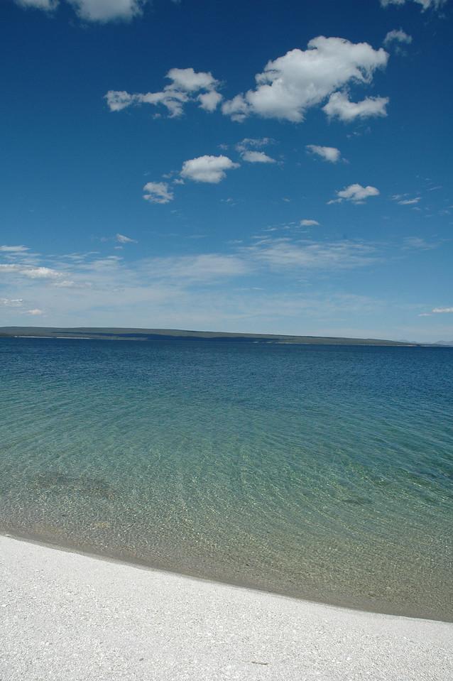 Yellowstone Lake, near West Thumb Geyser Basin