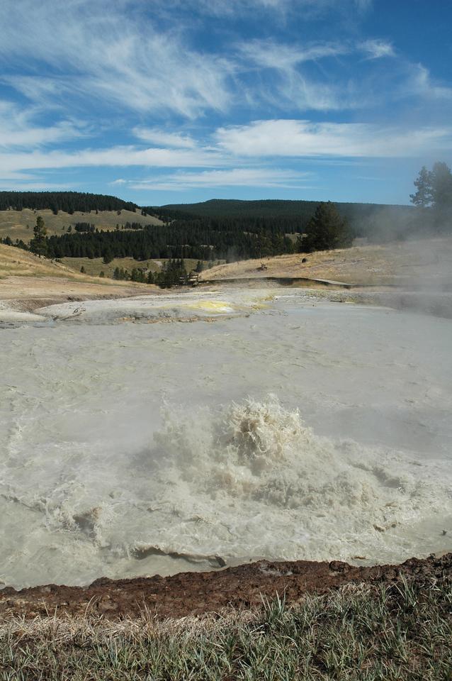 Mud Volcano geothermal area
