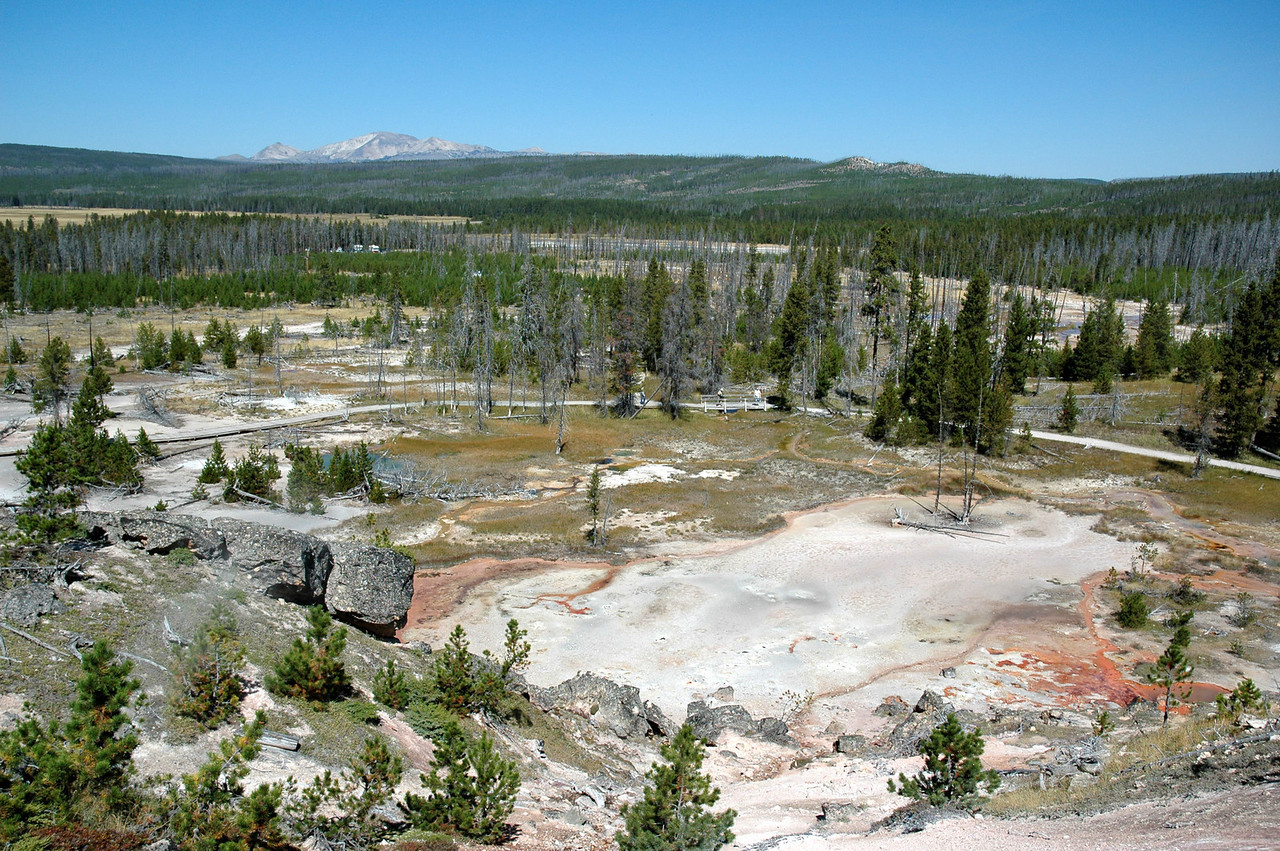 Artists Paint Pot, Yellowstone NP
