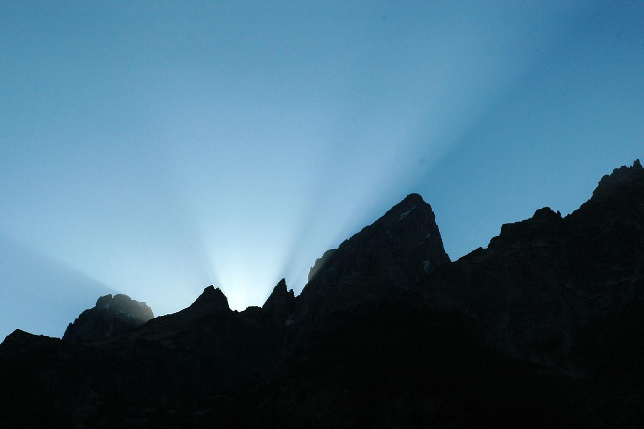 Before sunset, Grand Teton NP, Wyoming