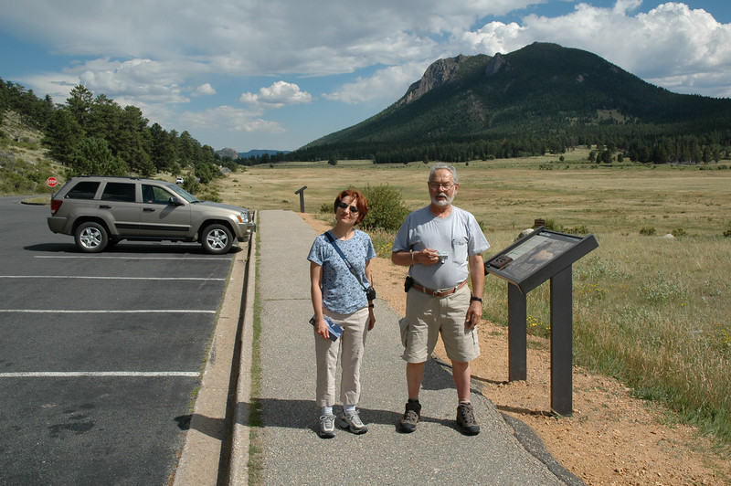 First stop in Rocky Mountain National Park, Colorado