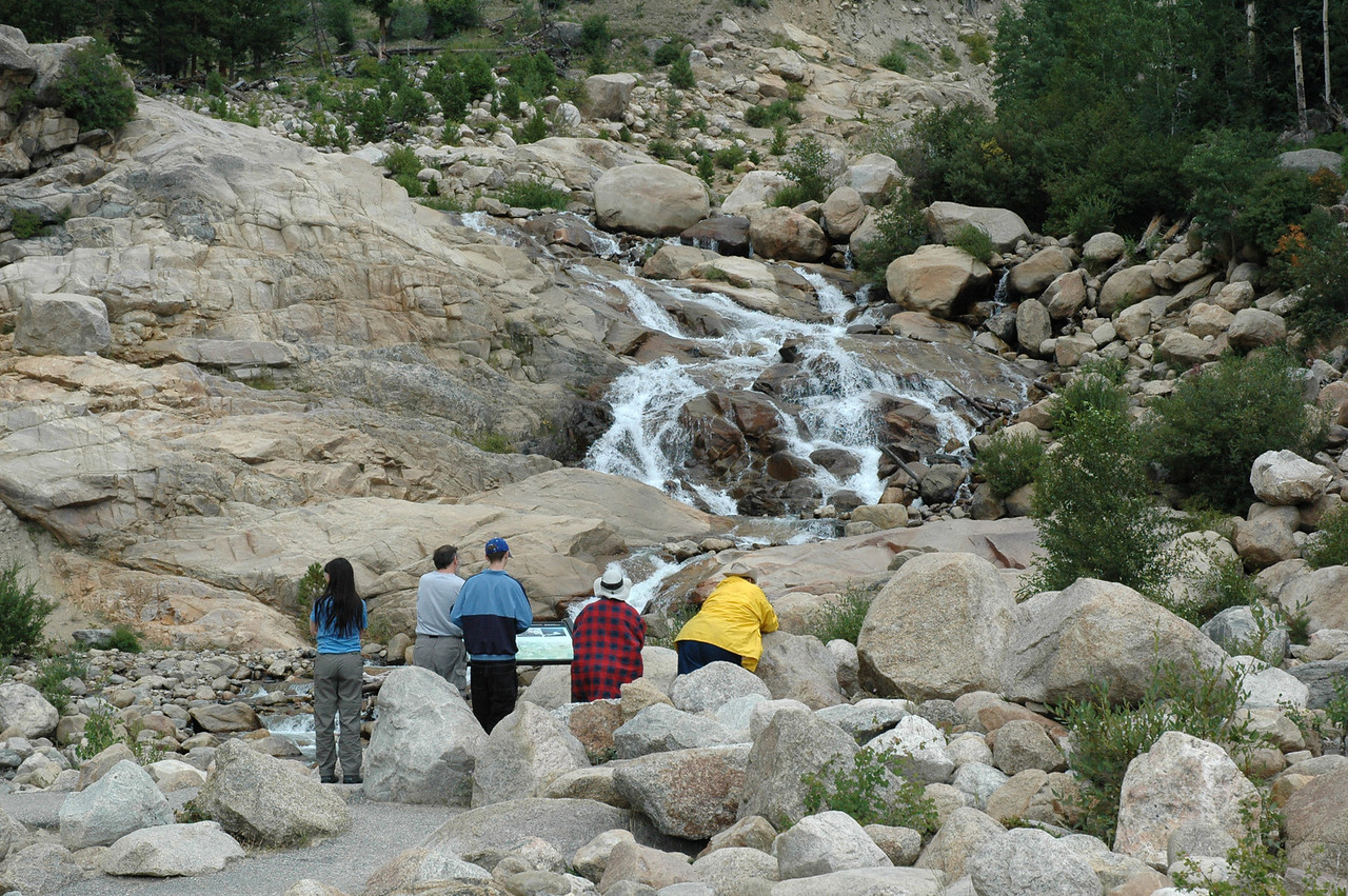 Alluvial fan of the 1982 flood of the Roaring River Valley