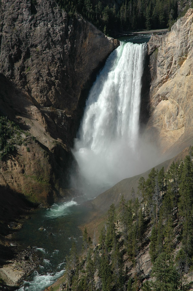 Lower Falls, Grand Canyon of the Yellowstone