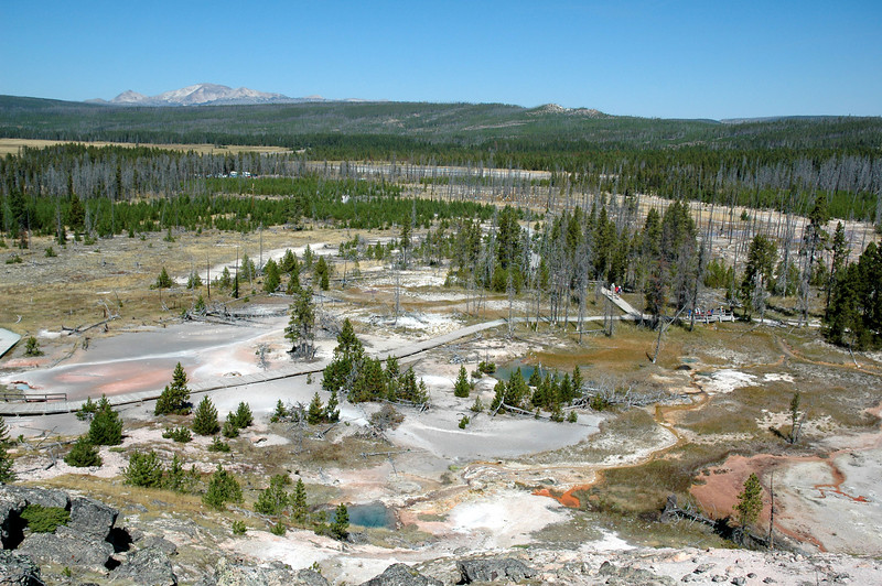 Artists Paint Pot, Yellowstone NP