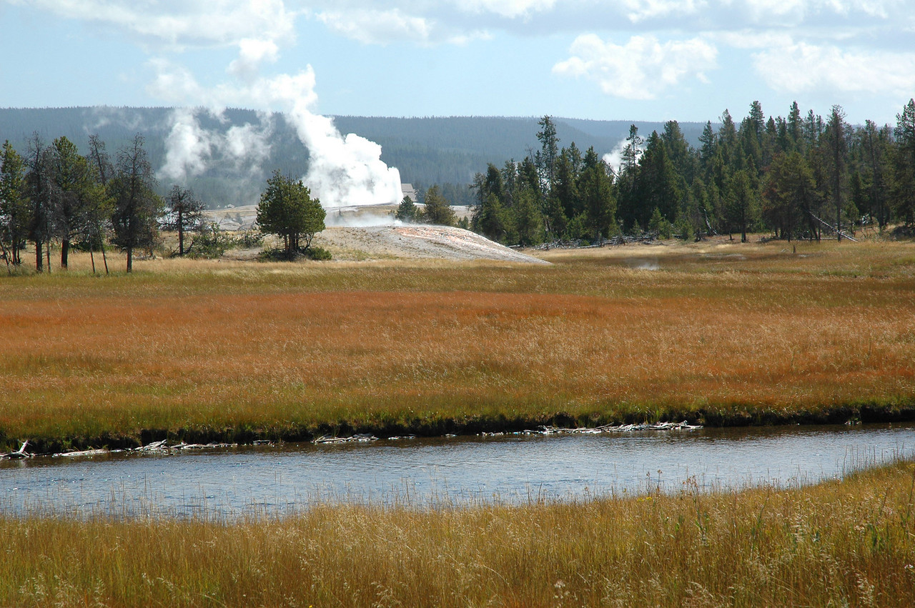 Old Faithful, Upper Geyser Basin