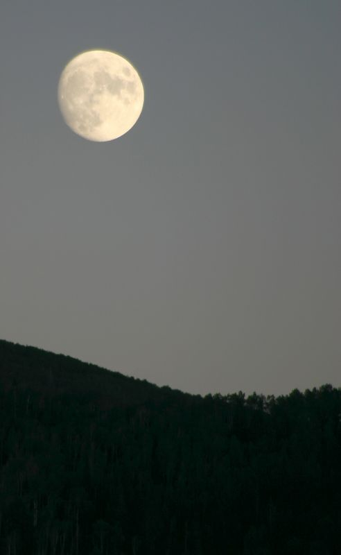 Moon over Steamboat