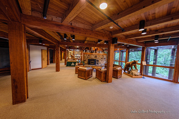 Runge Conservation Nature Center Lobby